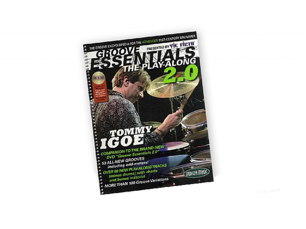 Bladmuziek Drums, Drum Along, Tommy Igoe, Groove Essentials, volume 2 (Boek + CD)