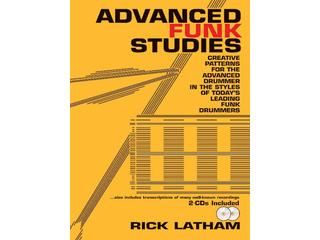 Bladmuziek drums, Rick Latham, Advanced Funk Studies (met 2 cd's)