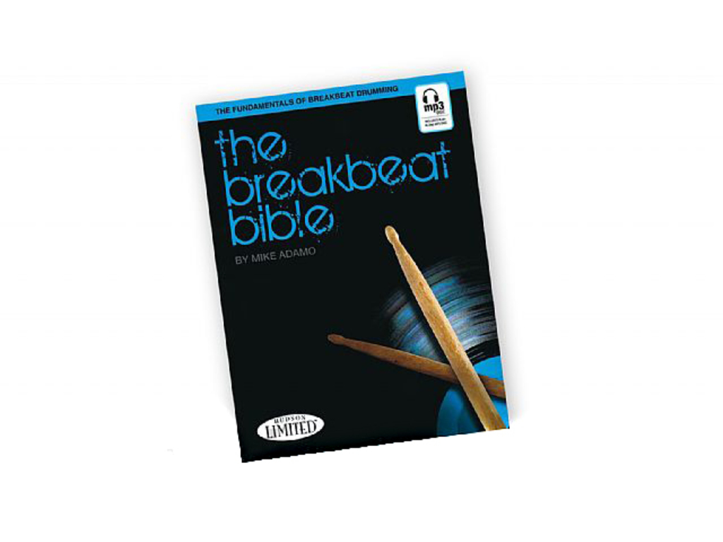 Bladmuziek Drums, Michael Adamo, The Breakbeat Bible Drums Book