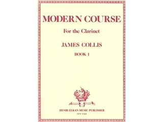 Bladmuziek Klarinet, Moderne Course (james Collis), Deel 1