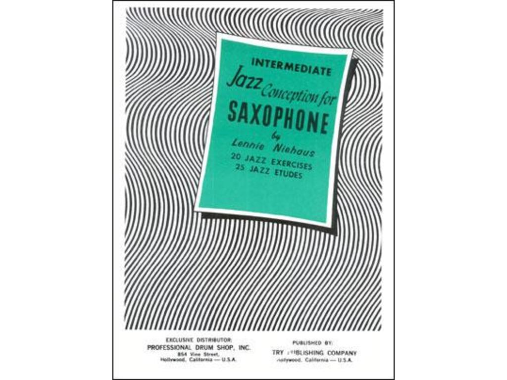 Bladmuziek Saxofoon, Lennie Niehaus, Intermediate, Jazz conception