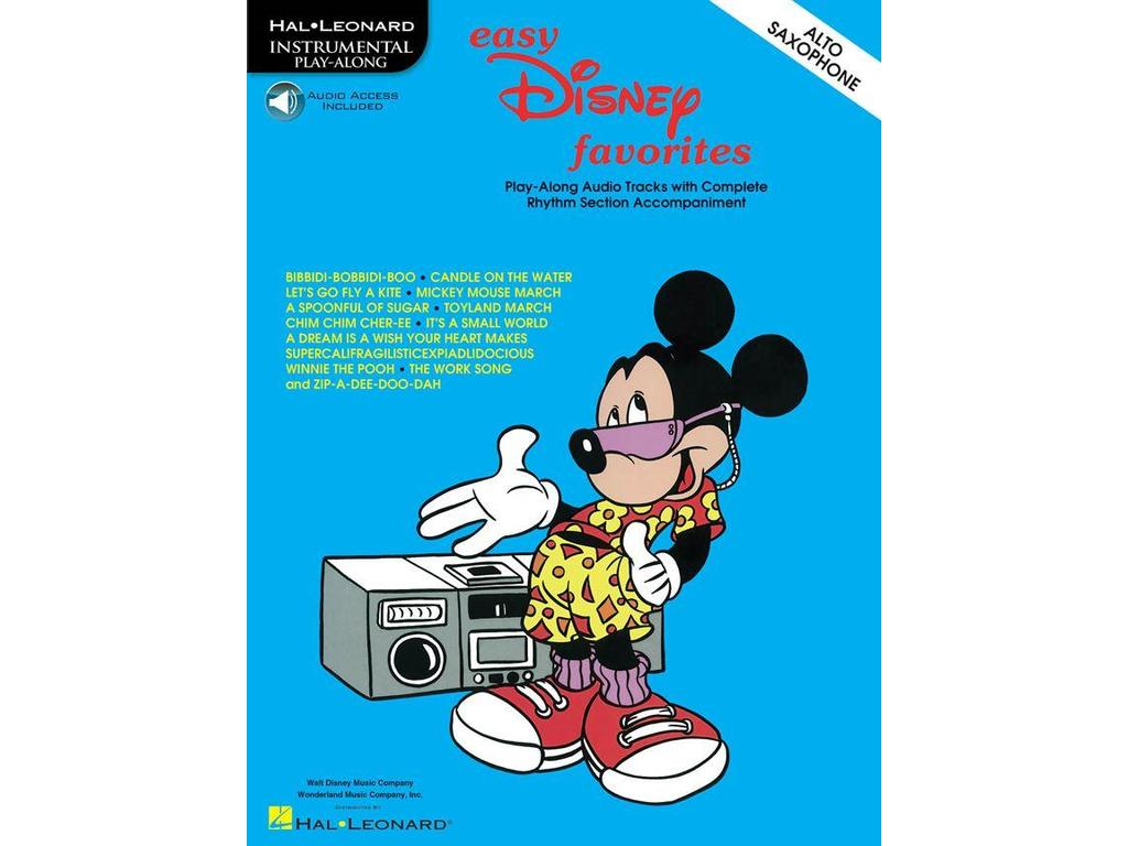 Bladmuziek Saxofoon, Disney, Easy Favorites
