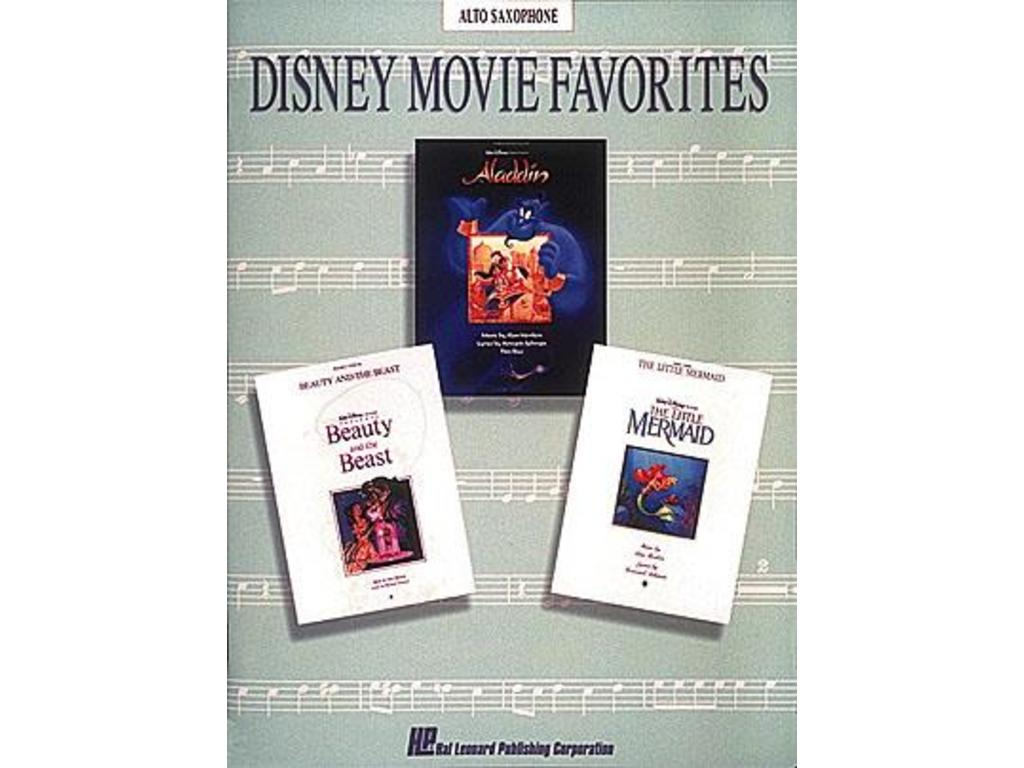 Bladmuziek Saxofoon, Disney, Movie Favorites