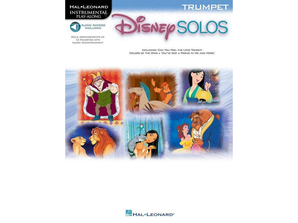 Sheet Music Trumpet, Disney, Disney Solos