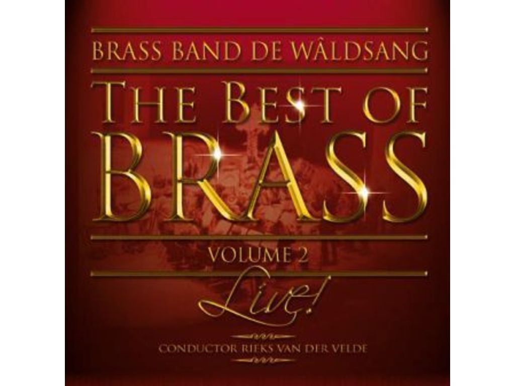 Cd World Wind Music, Best Of Brass Vol. 2, Brassband De Waldsang (2cd)