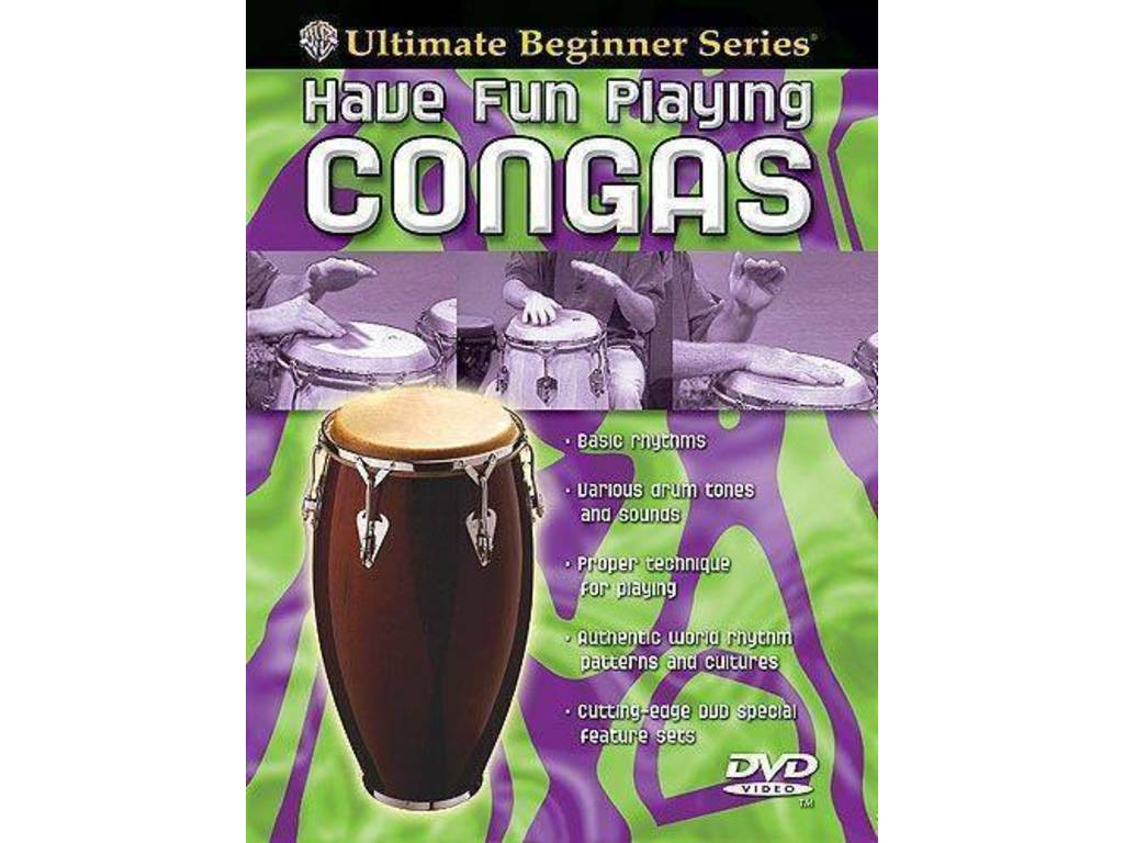 Dvd Ubs Have Fun Playing Congas