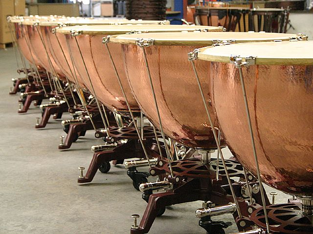 Adams Schnellar timpani: First delivery to Brazil