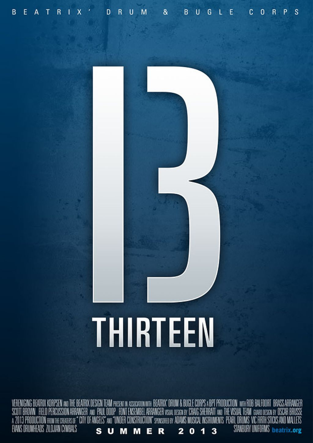 Beatrix' proudly presents: THIRTEEN