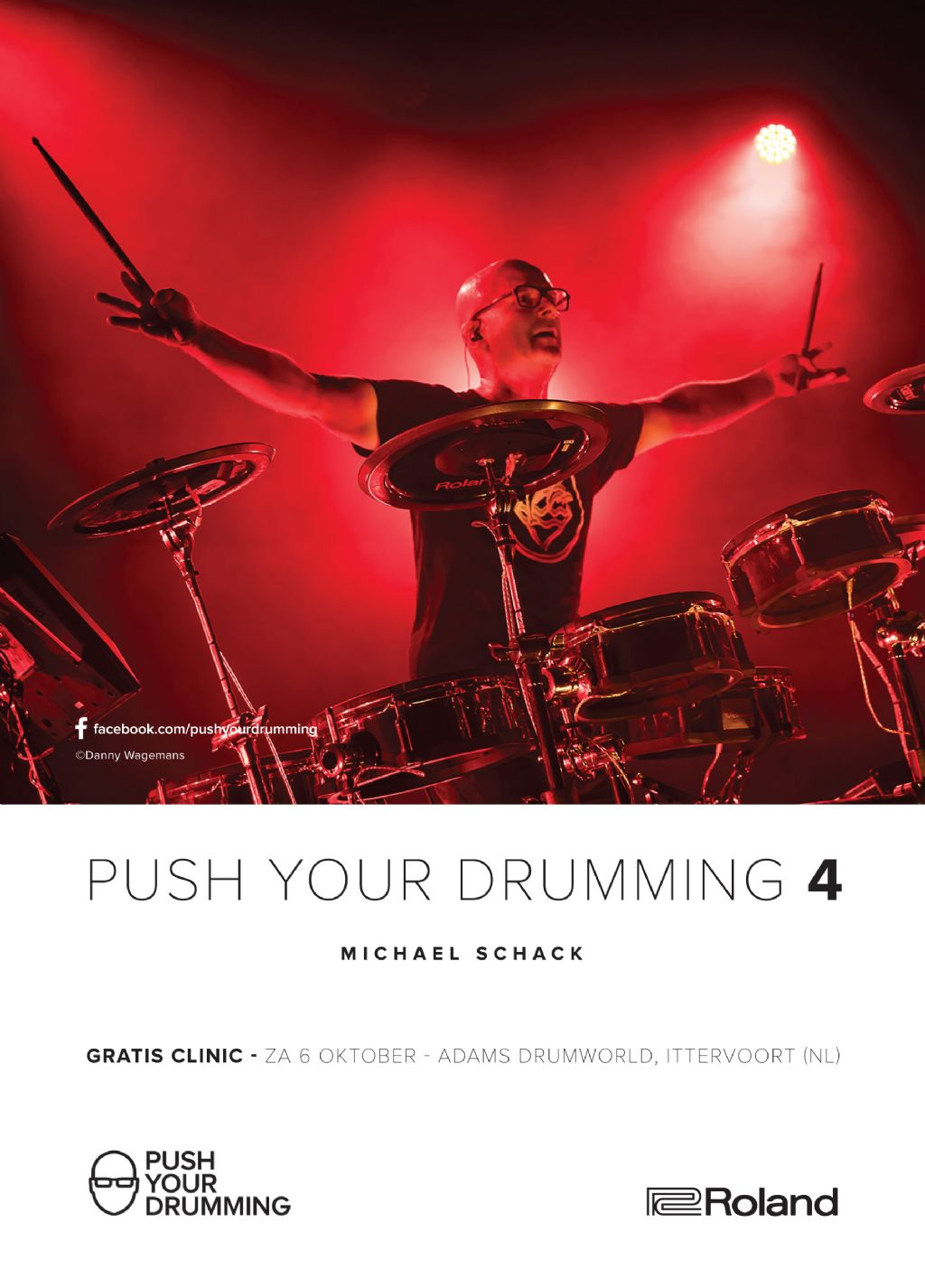 Push your drumming 4 - Roland