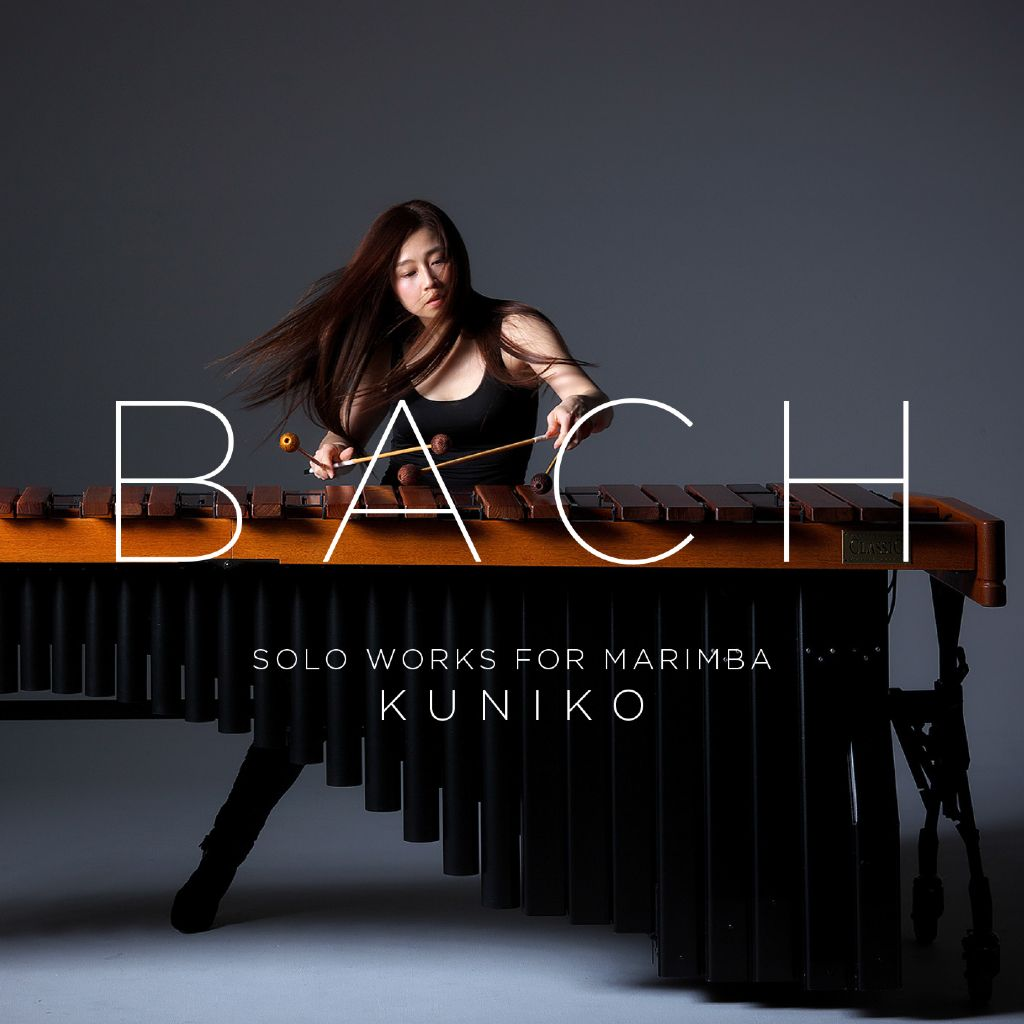 BACH Solo works for marimba by Kuniko Kato