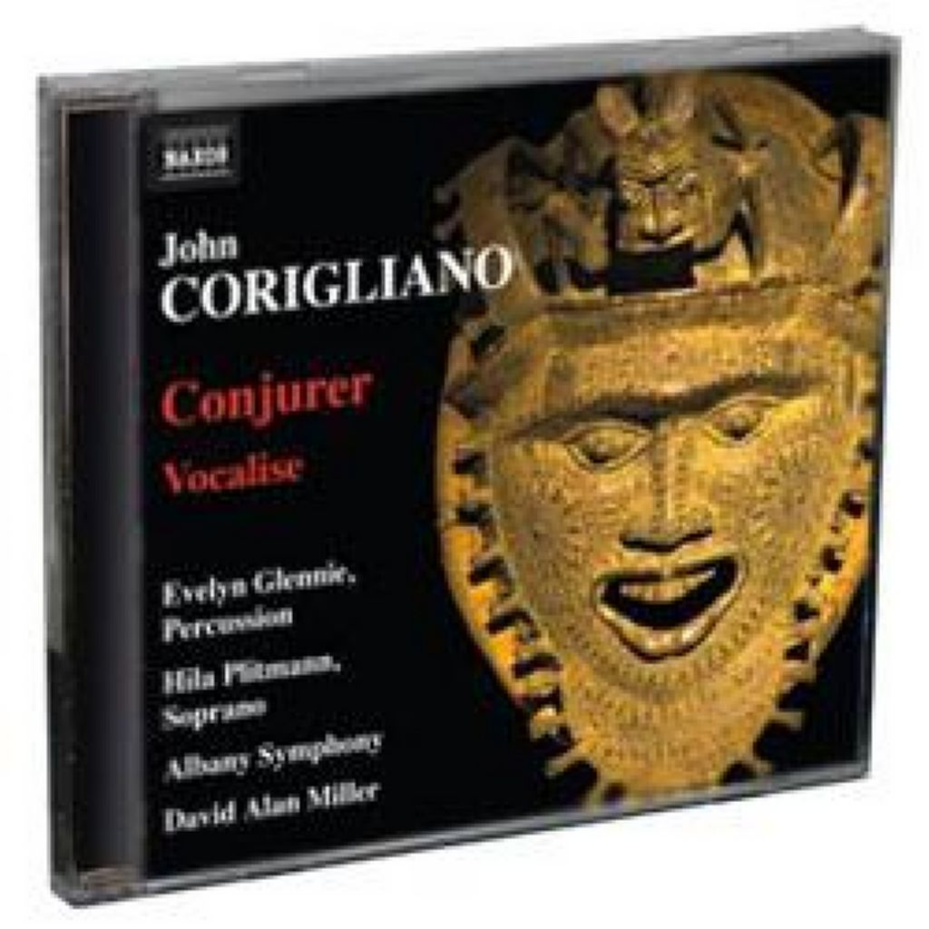 Evelyn Glennie Wins GRAMMY for Premiere Recording of Corigliano's 'Conjurer'
