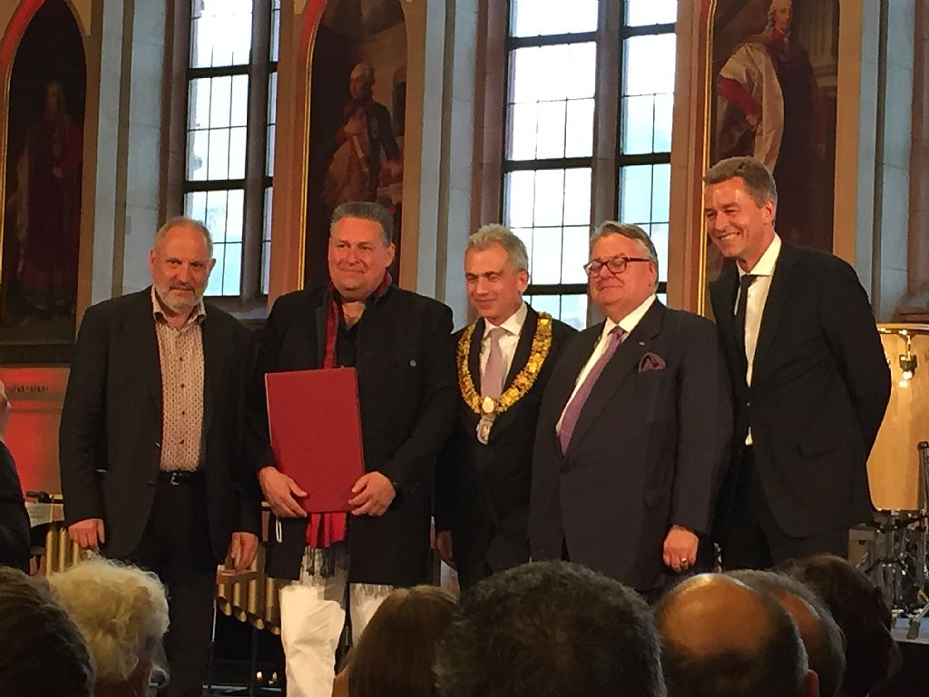 Peter Sadlo receives the Frankfurt Music Prize 2015