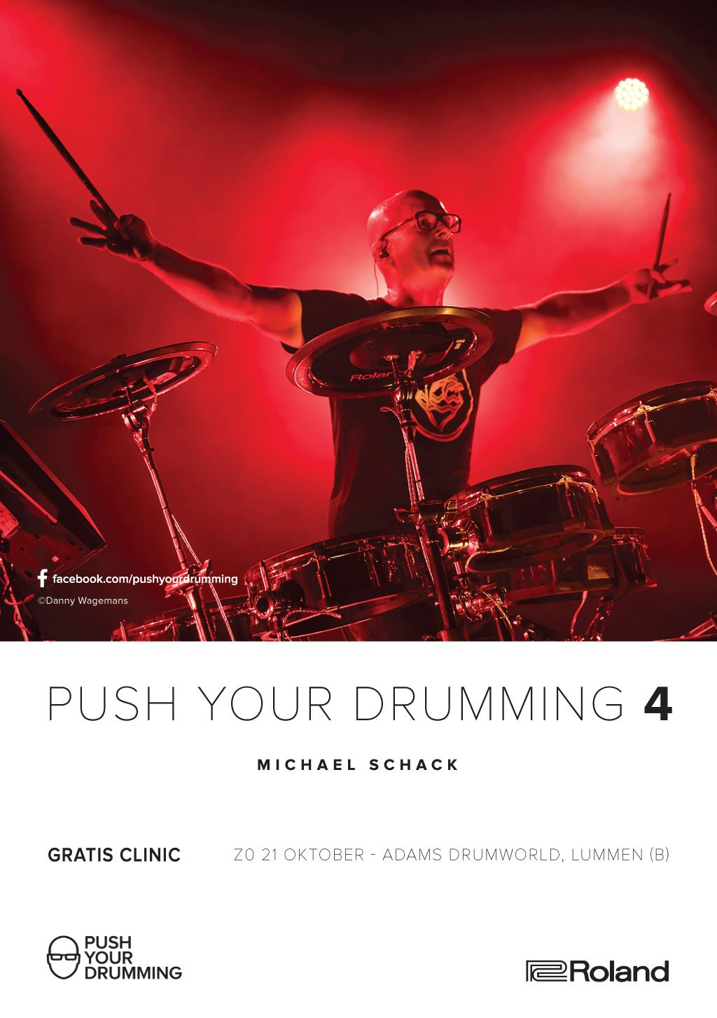 Push your drumming -  Roland