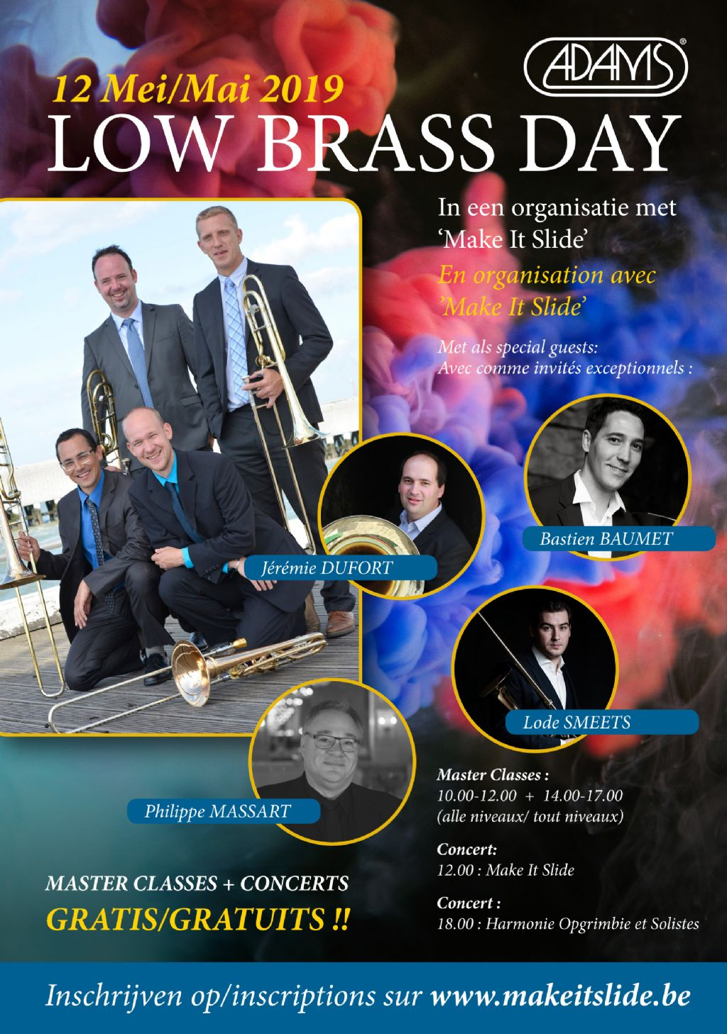 Low Brass Day bij Adams Lummen!
