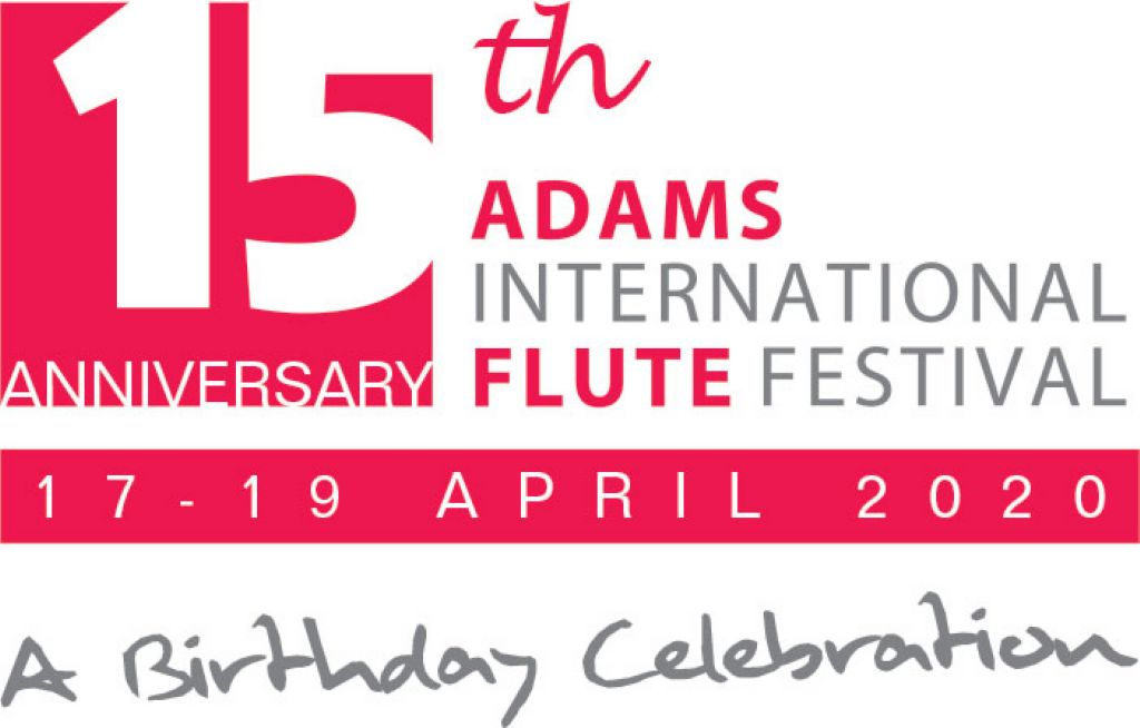 15e International; Adams Flute Festival. A Birthday Celebration
