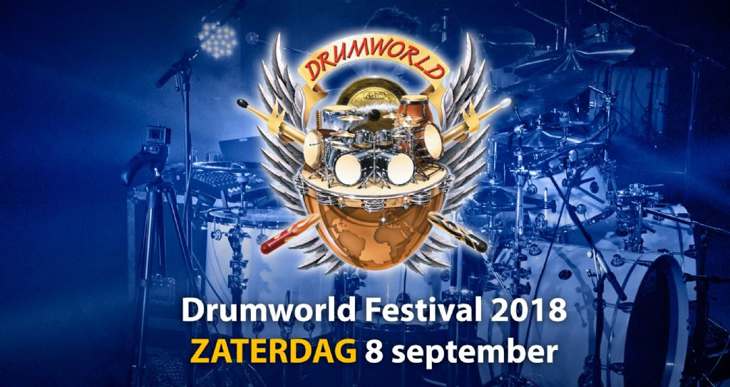 Drumworld Festival 2018 op zaterdag 8 september