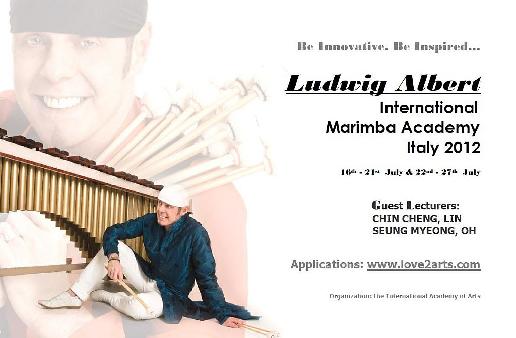Ludwig Albert International Marimba Academy Italy